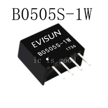 20PCS DC-DC Isolation Power Module B0505S-1W B0505S B0505 SIP-4 5V to 5V