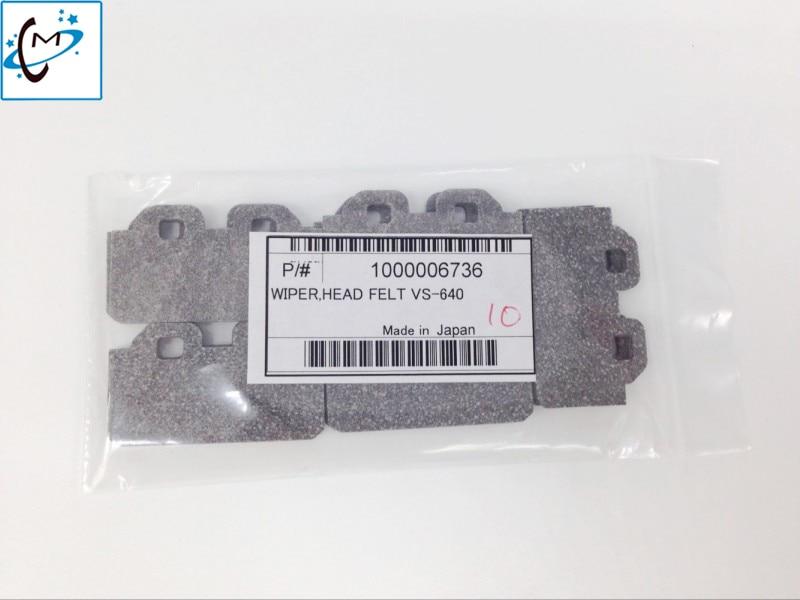 Original new Eco solvent printer Felt  Roland RE-640 Wiper Original VS-640 / VS-300 / VS-420 / VS-540 / XF-640 / RE-640 wiper new original dx4 solvent printhead for roland xj740 640 540 printer get 2pcs dx4 small damper as gift
