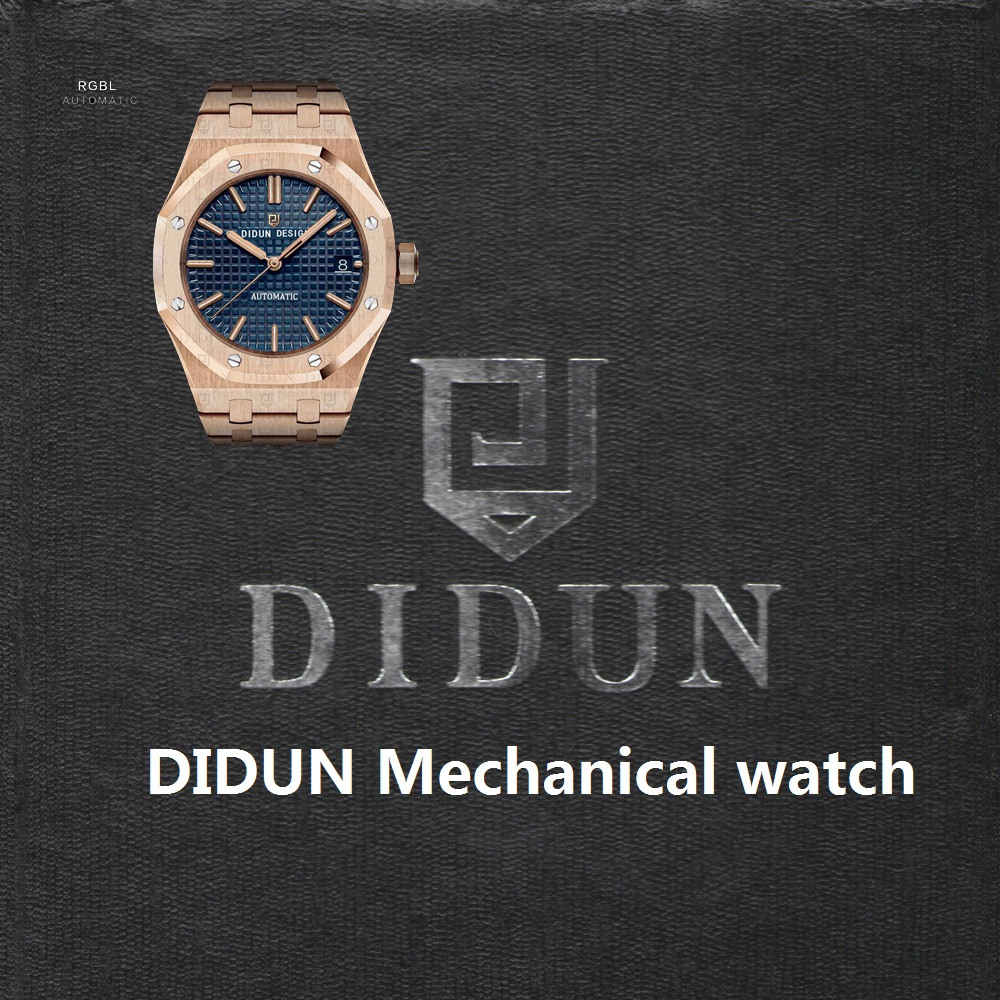 Mechanical Automatic Watch Rosegold Male Watch Luminous Wristwatch