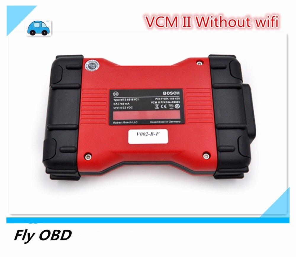 Prix pour Top Qualité VCM 2 VCM II Professionnel Outil De Diagnostic Sans Wifi Pour VCM2 Scanner VCMII IDS OBD vcm ii Multi-langue