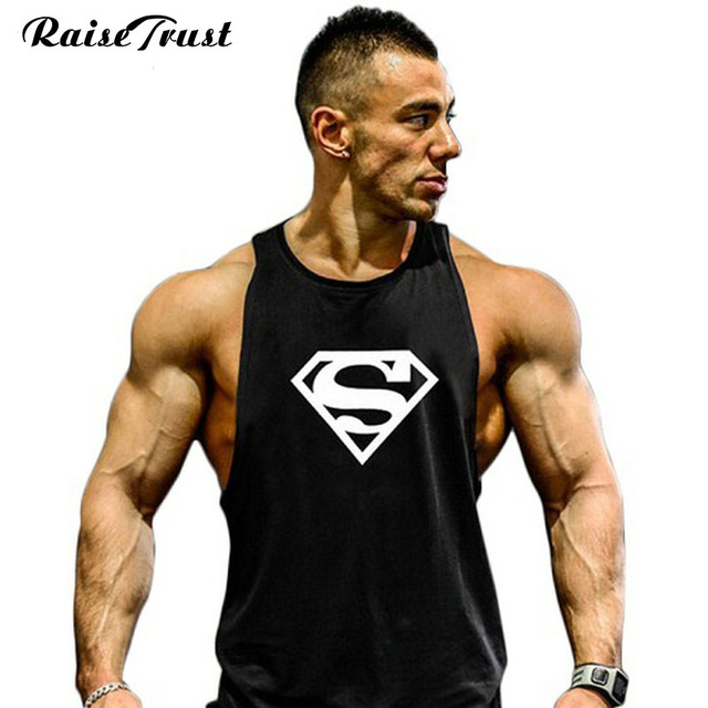 91ae656f79e76 Top gyms 2019 summer cotton bodybuilding and fitness clothes Gymwear vest  men Brand designer undershirt tank