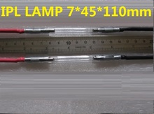 7 * 60 * 125MM IPL SHR e lys xenon lampe til salg 5 stk pr. Ordre hele salg ipl lampe xenon flash