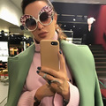 New Trend Brand Designer Oversized Butterfly Sunglasses Women Ladies Female Elegant Sexy Street Snap Catwalk Sunglasses Oculos