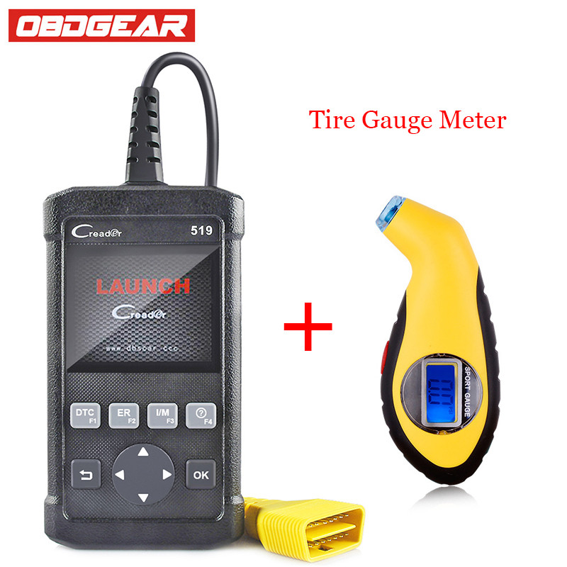 Top quality Launch Creader 519 Car Diagnostic Tool Free Update OBDII Auto Diagnosis Creader CR519 ODB OBD 2 Automotive Scanner newest obdmate om520 lcd obd2 eodb car diagnostic scanner obdii interface om520 obd 2 ii auto diagnostic tool scanner