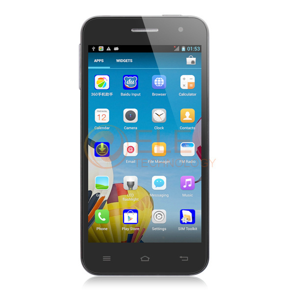 4.3 inch jiayu g2f phone android 4.2 mtk6582 quad core 1GB RAM 4GB ROM 8.0MP camera IPS Corning II Gorilla Glass