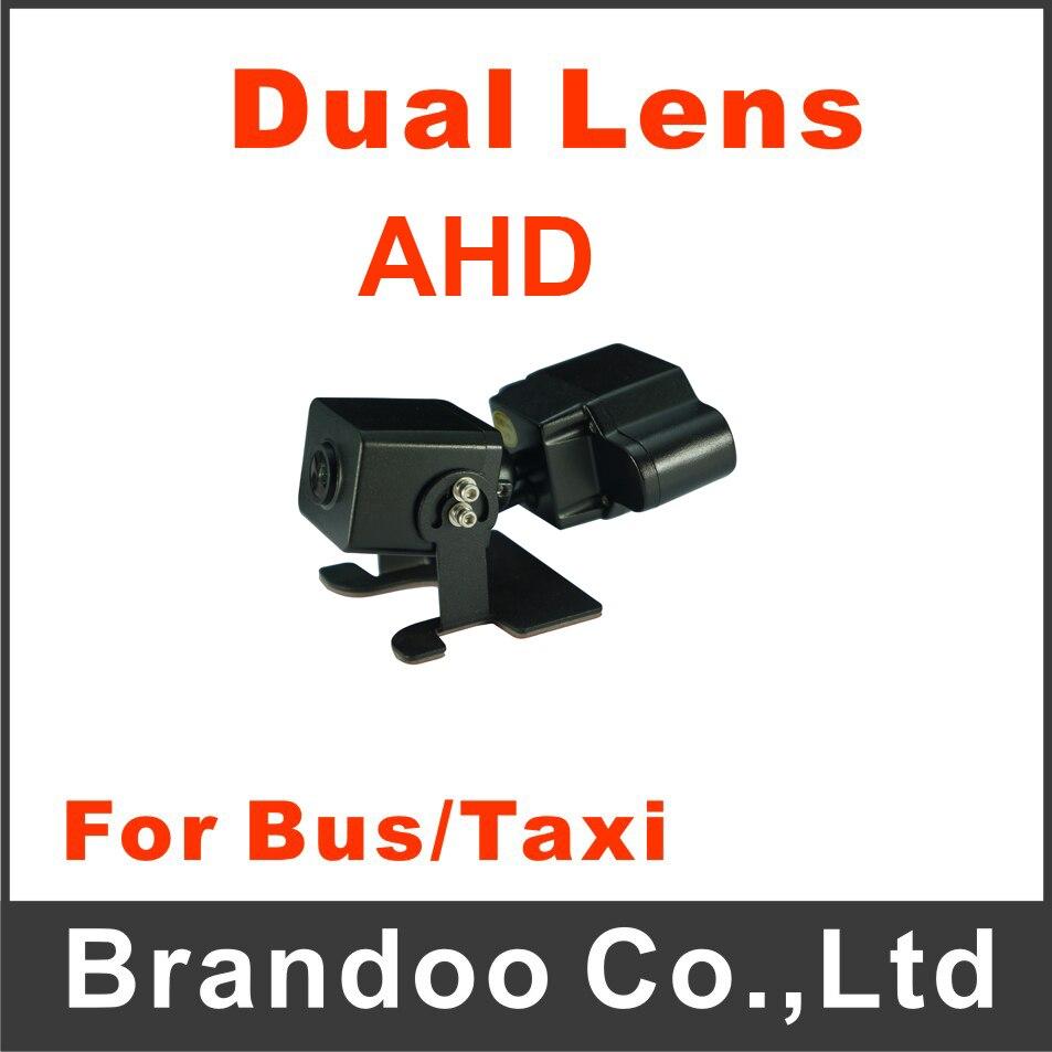 AHD-612 AHD Car Camera 125 Degree Dual Lens Car Camera For Bus Taxi