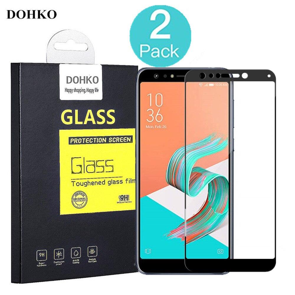 2 упак. DOHKO для Asus ZenFone 5Q ZC600KL закаленное Стекло 0,26 м 2.5D HD полное покрытие Экран протектор для Asus zenFone5Q ZC600KL