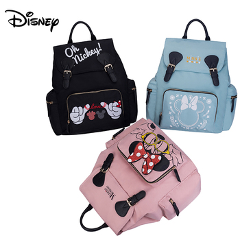 Disney Mummy diaper bags Backpacks stroller hooks Mommy Cartoon Insulation backpack Nappy Bag for baby born with small bag