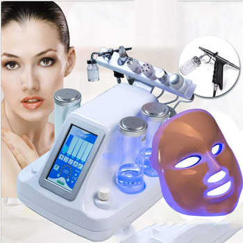 Small Bubble Oxygen & Water Jet Peel Hydrafacial Machine - Facial Cleaning Blackhead Acne Keep of The Skin Beauty