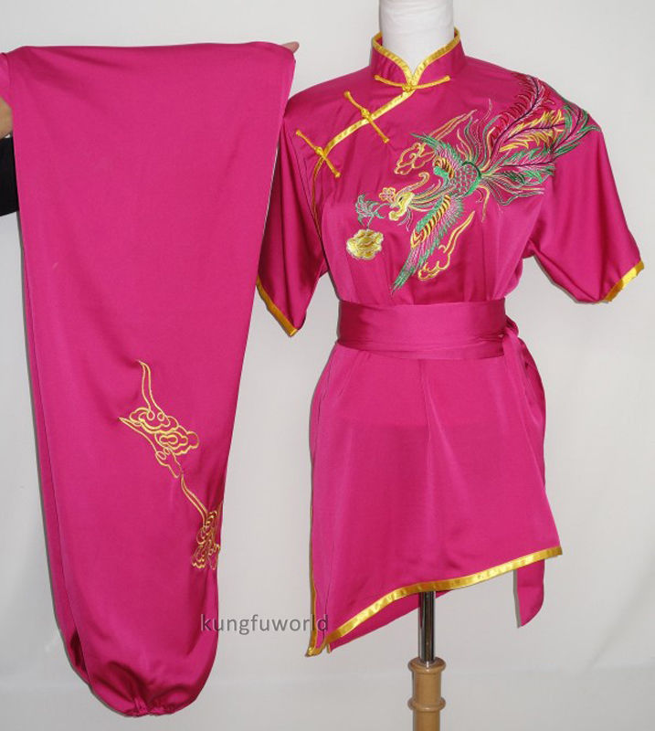 все цены на Women's Embroidery Tai Chi Martial arts Kung fu Uniform Wushu Wing Chun Suit Taiji Clothing Costumes онлайн