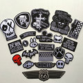 1PC Clothes Patch Cartoon Embroidered Patches for Clothing Sticker Badge Iron or Sewing Bags Hats Jackets Applique DIY Accessory