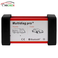 For CAR/TRUCK 2015R1 R3 TCS Cdp Pro Diagnostic Tool Multidiag Pro Bluetooth TCS CDP Single Green Board OBDII Interface Scanner