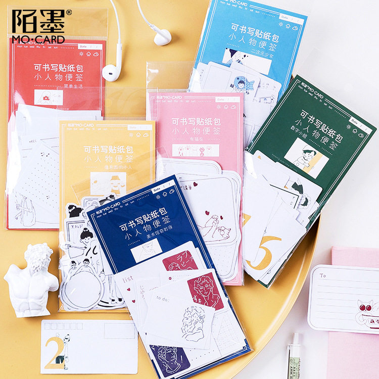 45pcs/bag Lovely Girls Cat Paper Sticker Diary Decoration Diy Scrapbooking Label Seal Sticker Stationery