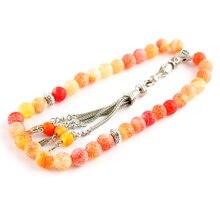 Insectes chapelet 33 Bracelets musulmans Tasbih Eid cadeau pour homme Islam prière perles homme Misbaha islamique Bracelets