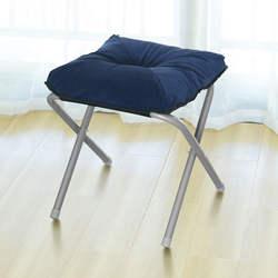 Бытовой ткань Книги по искусству подножка простой складной утолщаются менять обувь Bench многофункциональный небольшой диван стул