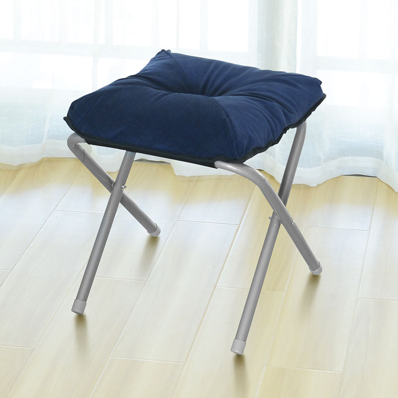 Household Cloth Art Footrest Simple Foldable Thicken