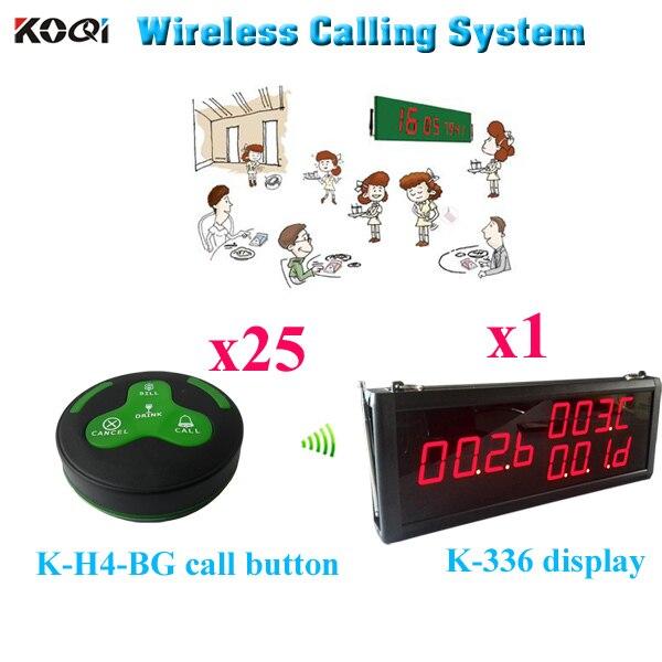 Restaurant Kitchen Order System restaurant wireless service calling system wireless calling