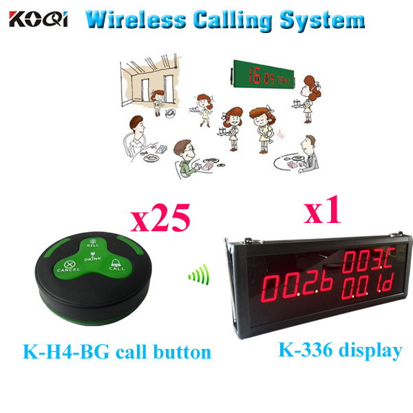 Restaurant Kitchen Order System restaurant wireless service calling system wireless calling