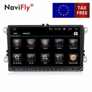 9 дюймов Android 8,0 4 ядра автомобиля радио gps для VW мужские Поло Гольф passat tiguan skoda yeti превосходное быстрое Авто радио мультимедиа с wi fi