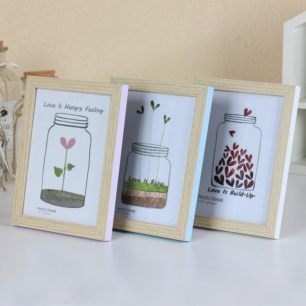 homemade photo frames