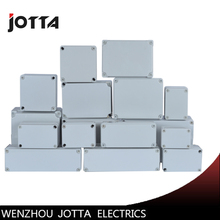 Jotta Waterproof ABS Plastic Electronic Enclosure Project Box White Electrical Connector waterproof abs plastic electronic box white case 6 size