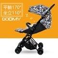 Cochecito de bebé ultraligero amortiguadores portátil bb hadnd paraguas coche de bebé del verano del niño