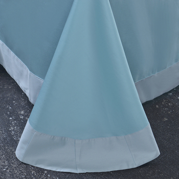Elegante Bettwäsche Sets | Luxus Ägypten Baumwolle Eleganz Tanz Rüschen Bettwäsche Set Stickerei Bettbezug Bett Blatt Kissen Königin König Größe 4/6 /7 Stücke