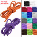 Factory Sale 10pcs 1 Meters Fashion Jewelry Hight Quality 3mm Flat 100% Genuine Real Soft Natural Leather Cord String Lace Rope