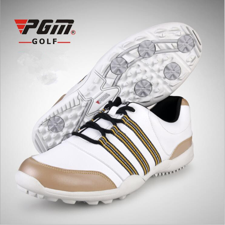 PGM Men Golf Shoes Fixed shoe spikes Sneakers non-slip Wear-resistant Waterproof breatha ...