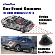 Liandlee For Buick Encore 2012-2018 2013 2014 2015 2016 / Car LCD Monitor 4.3 Front View Camera Logo Embedded Cigarette Lighter