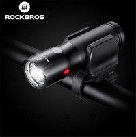 RockBros USB Rechargeable Bike Front Light Cycling Headlight Waterproof IPX6 Flashlight 700 Lumen 2000MAH 6 Modes