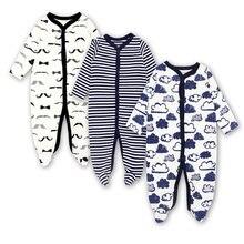 Детская одежда для новорожденных и малышей комбинезон младенцев