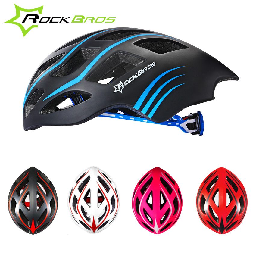 ROCKBROS Professional Triathlon Road Bike Cycling Helmet Men Bicycle Integrally-molded Ultralight Sport Helmet Casco Ciclismo цена