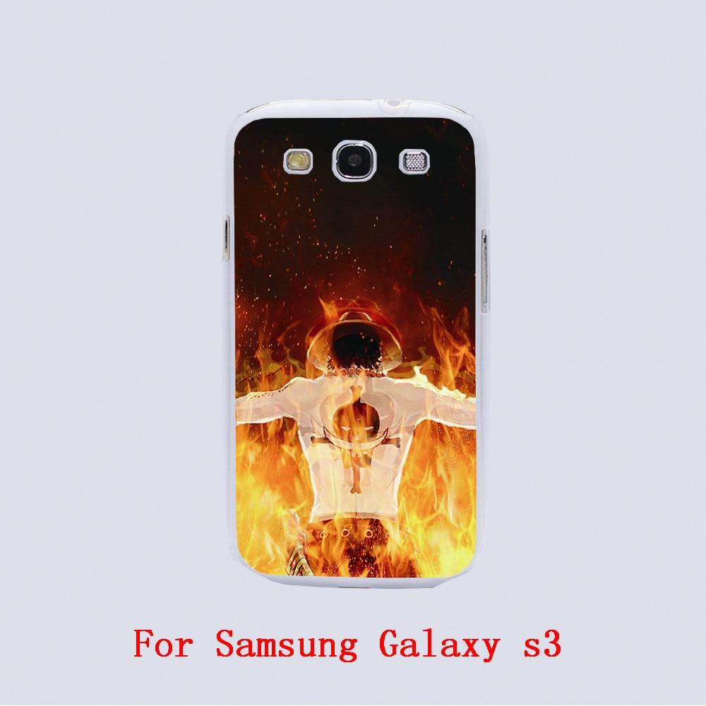 Us 368 One Piece Ace Hd Wallpaper Sfondo Design Nero Della Pelle Della Copertura Del Telefono Custodie Per Samsung Galaxy S3 9300s4s5s6s6 Bordo