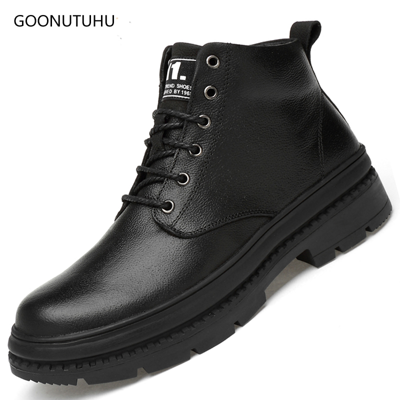 2018 new autumn winter mens boots plus size 39-47 shoe ankle boot man shoes genuine leather cow tactical military boots for men2018 new autumn winter mens boots plus size 39-47 shoe ankle boot man shoes genuine leather cow tactical military boots for men