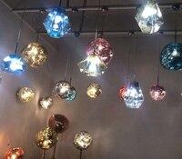 Современные промышленные Железный Паук Подвеска Барабан огни Черный Подвеска светильник бар гостиная Подвесная лампа светильники