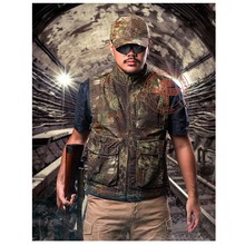 Men's Sport Tactical Hunting Shooting Vest Airsoft Motocycle Riding Fishing Hiking Clothing