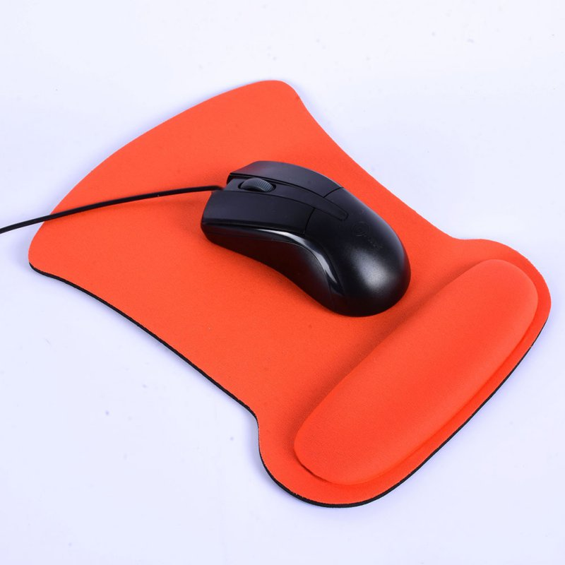 NEW Thicken Soft Sponge Wrist Rest Mouse Pad For Optical/Trackball Mat Mice Pad Computer Durable Comfy Mouse Mat
