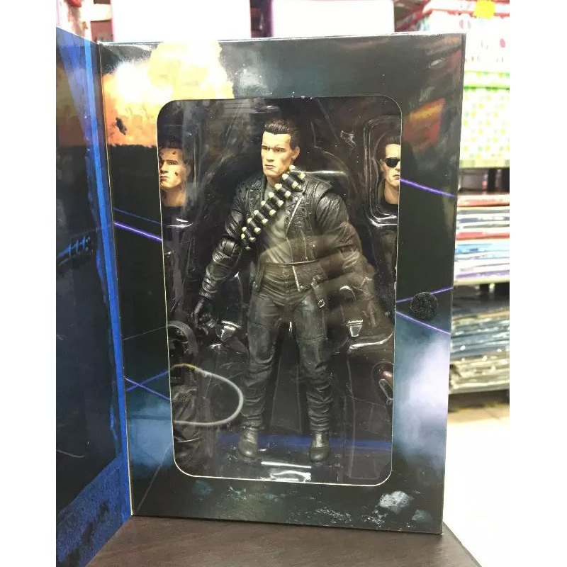 NECA Terminator 2 Judgment Day T-800 Arnold Schwarzenegger PVC Action Figure Collectible Model Toy 7