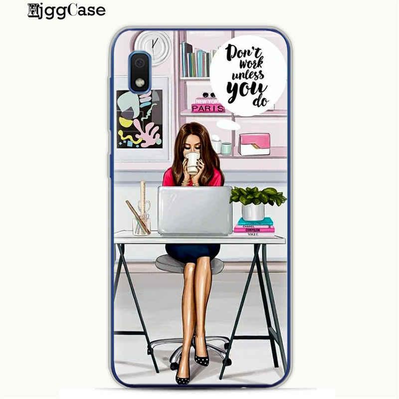 Đối Với Samsung Galaxy A30 VOGUE Giáng Sinh Sexy Bộ Bikini Cô Gái Mềm TPU silicone Trường Hợp Điện Thoại Cho Coque A10 A20 A30 A40 a50 A70 A7 Bìa