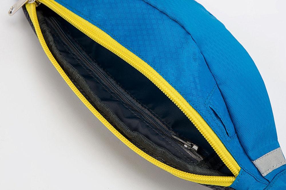 New 2017 Waterproof unisex Waist bag Belt Bum Waist Pouch Fanny Pack Zip arm leg Bag 6 color bolsa feminina top sale travel bags