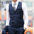 UR 36 Hot Royal New Autumn Fashion Bussiness Slim Fit Wedding Formal Handmade Custom Made Terno Men Waistcoat Vest Colete Gilet