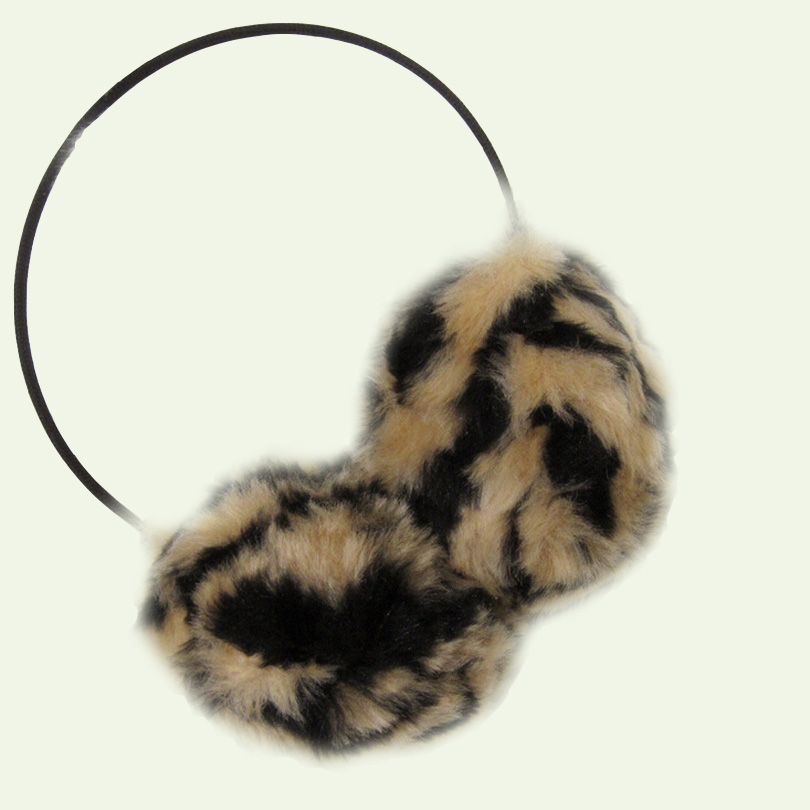 Autumn Earmuffs Leopard Women Earmuffs Fashion Thermal Unisex Sweet Winter Cotton Skeleton Candy Color Plush Ear Package E002