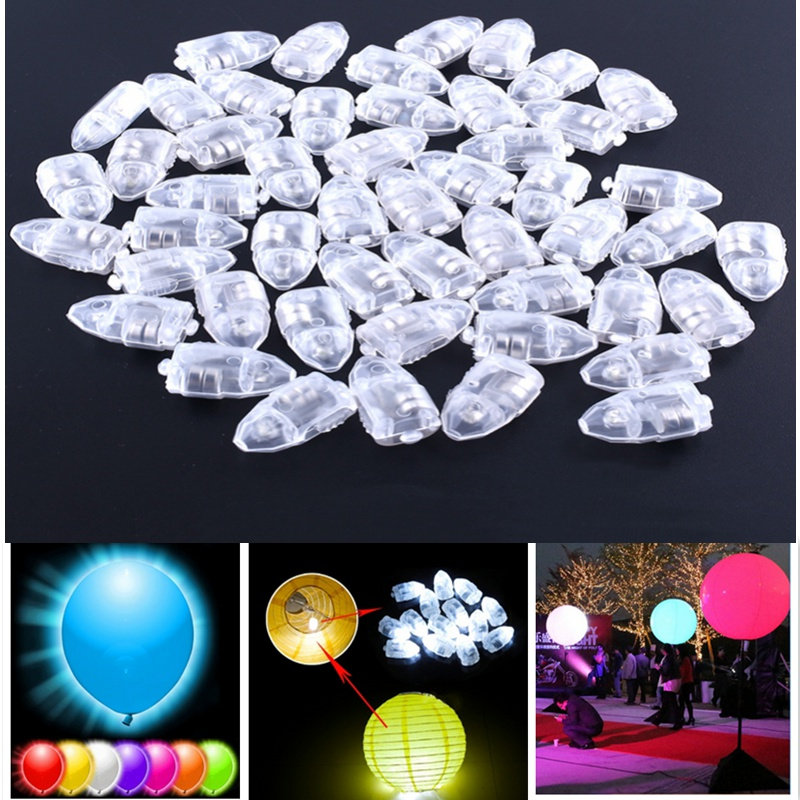 20pcs LED Balloons Lamp Decoration Light for Wedding Decoration Casamento Orbs Birthday Party Decorations Kids Party Decoration.