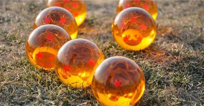 one set (7pcs)high quality resin dragon ball crystal balls