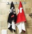 Fashion red white Supreme bath beach towel/Supreme blanket 100% Cotton High Quality Throw Blanket for sofa Bath Towel 35*75cm