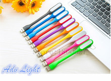 Горячие продажа 10 Цветов Портативный Для Xiaomi USB LED Light с USB Для Питания банк/компьютер Светодиодная Лампа Защитить Зрение USB LED ноутбук
