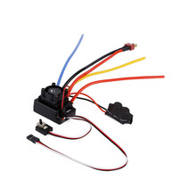 80A Adjustable Sensored/Sensorless Brushless ESC for 1/10 RC Car Buggy Truck