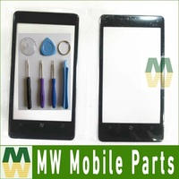 1PC Lot Outer Glass Front Glass Repair Replacement Digitizer For Nokia Lumia 800 N800 Free Shipping
