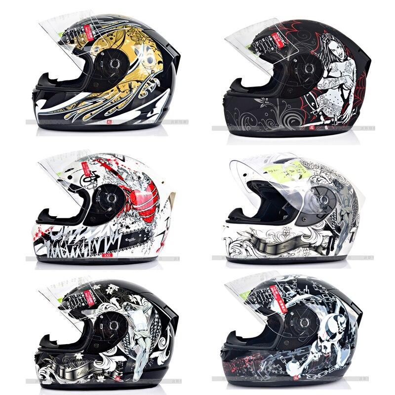New arrival YL full face motorcycle helmet automobile race helmet four seasons XXL plus size Casco motocicleta Capacete de moto
